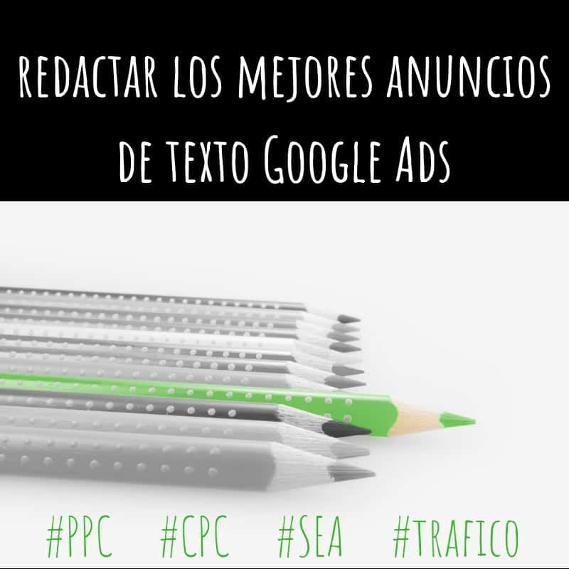 Redactar los mejores anuncios de texto Google Ads (Adwords)